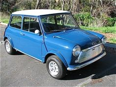 1967 Austin Mini Cooper S Mk2 For Sale Front. (LR: We have a '68 like this!!)
