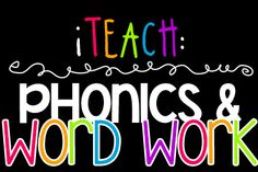 iTeach: Phonics & Word Work