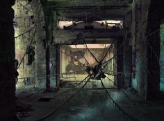 Hotel destroyed - Matteo Della Chiesa. It's a photo-manipulation made in 2010 with Adobe Photoshop CS3.