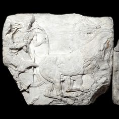 "didoofcarthage: "" Chariot group from the south frieze of the Parthenon The Acropolis, Athens, Greece, c. 438-432 B.C. Pentelic marble The British Museum """