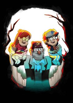 Creepy, cool and lovely exactly what gravity falls is