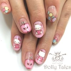 Hello kitty nails httphubzfo71detox water recipes for short nails with hello kitty nail art prinsesfo Image collections