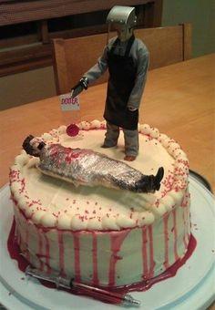 Dexter cake! #dexter #cake
