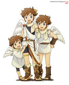 Pit Is One Of My Favorite Video Game Characters All Time I Absolutely Love The Kid Icarus