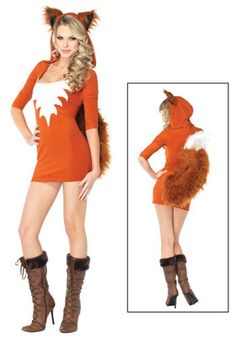 fox costume  potential idea for this year's halloween  ~jL