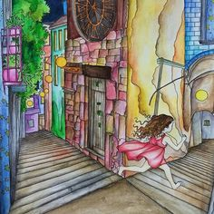 O feitiço do tempo Instagram media iris_sparkup - Albrecht Durer Watercolor Pencils and Rembrant watercolor pans ... From Time Garden...