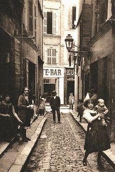Stuart Jeffris, In praise of dirty, sexy cities: the urban world according to Walter Benjamin. Rue de l'Amandier in Marseille, Photograph: Adoc-photos/Corbis Rich Image, 1920s Art Deco, City Illustration, Historical Art, New City, Dieselpunk, Photo Library, The Guardian, Rue