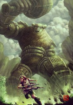 Shadow of the Colossus - Created by Murilo Araujo