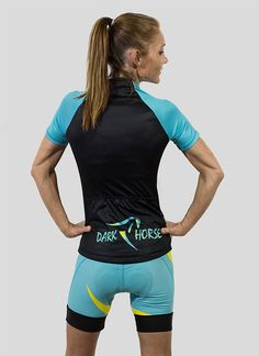 new DARK HORSE women's cycling kit in 3 color combinations.So worth it, but limited numbers
