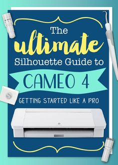 Cameo 4 User Guide by Silhouette School - Swing Design Plotter Silhouette Cameo, Silhouette Cameo Machine, Silhouette Vinyl, Silhouette Projects, Silhouette Design, Silhouette Studio, Silhouette Cameo Shirt, Silhouette Cameo Freebies, Silhouette America
