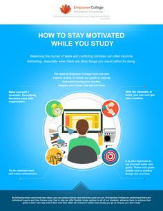 Need some motivation while you study? Check out our guide! #study #student #tips #motivation #empowercollege