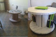 tavolino trasformato