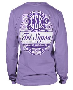 perfect recruitment shirt! maybe in a softer purple and short sleeved...Oklahoma is hot!
