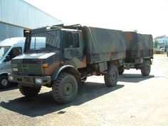 Unimog 435 U 1300 L with Trailer