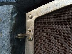Forged Bronze Fireplace doors - Handwrought Tools. Aaron Beck, Blacksmith