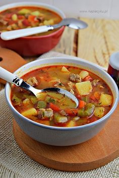 Zupa gulaszowa – Napiecyku