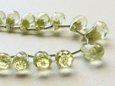 Cubic Zirconia AAA Green Amethyst Crystal by gemsforjewels on Etsy