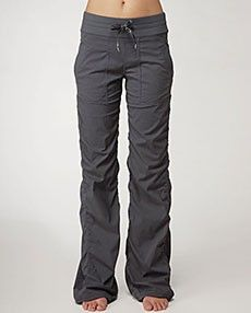 Lululemon. Dance Studio Pant. Grey. These are the perfect cover-up pants to wear to and from TechnoToning classes!