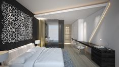 Dramatic Use of Modern Décor in Beirut by Antoni Associates
