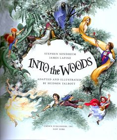 Into the Woods illustration