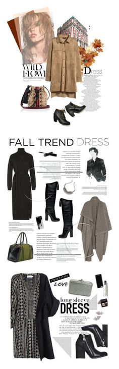 """Winners for Fall Trend: Long Sleeve Dresses"" by polyvore ❤ liked on Polyvore featuring H&M, Rachel Comey, Tamara Mellon, Lemaire, STELLA McCARTNEY, DANNIJO, Casetify, longsleevedress, Velvet and Judith Leiber"
