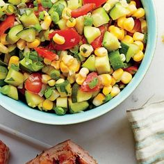 Sweet Corn Relish: Just what you need to jazz up grilled chicken, spoon over a pork chop, or stuff into a cheesy quesadilla.