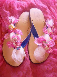 Handmade Sandals by Elizabeth 2012