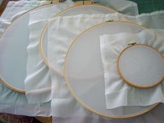 Linda's Art Quilts: How to Make Screen Printing Frames with Embroidery Hoops