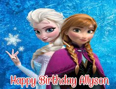 Disney Frozen Customized Edible Image Frosting Sheet Quarter Sheet Cake Topper ** Once in a lifetime offer : Baking decorations