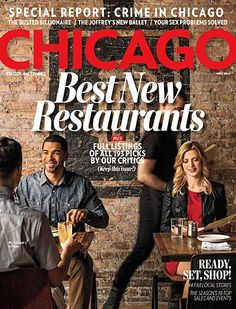 Pick up our Best New Restaurants issue on newsstands now!