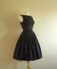 Unique Black Little dress Black Short by WonderfulHandMade5, $78.00