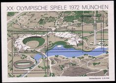 Stamps from Germany | Munich 1972, Olympic Games