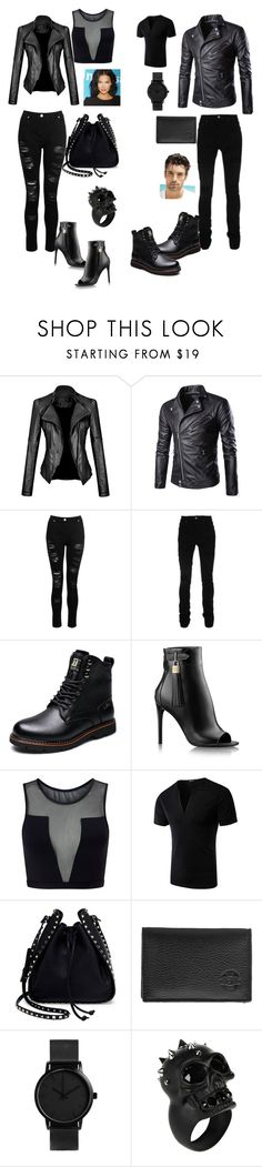 """His & Hers"" by ericap61720 ❤ liked on Polyvore featuring Dorothy Perkins, AMIRI, Varley, Valentino, Hero and Alexander McQueen"