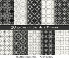 Similar Images, Stock Photos & Vectors of Triangle geometric vector pattern,patt… – Tattoo Geometric Patterns, Geometric Tattoo Pattern, Vektor Muster, Banners, Line Background, Black And White Lines, Stock Foto, Vector Pattern, Wallpaper