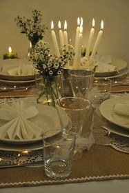Darling friends, I invite you all to my Christmas table! Virtually, of course, even if I'd like to have you really here with me... Christmas...