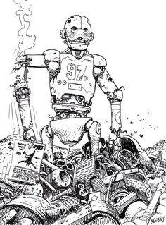 Image result for moebius robots