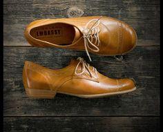 Shoe Embassy | Quarter Oxford - Amber