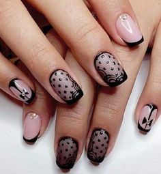Amp up your manicure with stylish these cool nail art ideas and hot new polish colors. Related PostsNail Art Designs Nail Color Trends Nail Art Designs For Summer nail art for Easy Nail Art Designs winter nail art ideas New wedding rings 2017 Related Nail Art Design Gallery, Simple Nail Art Designs, Best Nail Art Designs, Long Nail Art, Easy Nail Art, Nailart, New Years Eve Nails, Lace Nails, Beige Nails