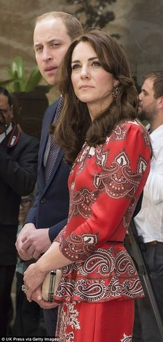Prince George and Princess Charlotte are being cared for by Kate's parents, Michael and Carole Middleton, and their Spanish nanny, Maria Borrallo