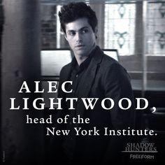 """S2 Ep12 """"The Fair Folk"""" - Hi, Alec.  #Shadowhunters"""