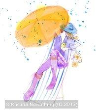 sunbathing in the rain - by KRIKEL