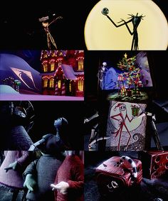 scenes from one of my favorite holiday films the nightmare before christmas