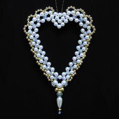 Intermediate : Embellished Open Heart - Large