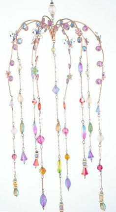 COPPER BEADED WINDCHIME SUNCATCHER WIND CHIME NEW Price: AU $35.96