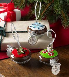 Cupcake Handmade Christmas Ornaments