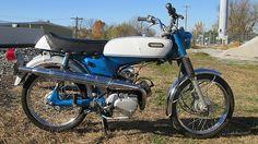 1970 Yamaha G6S 80  One Year Model
