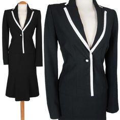 Ladies black petite suit #10