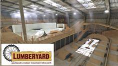 'The Lumberyard' Portland's first indoor bike park