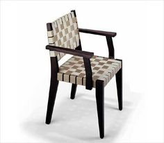 Chair made with recycled seat belts -- Buy Green: Great Contemporary Dining Room Chairs : TreeHugger