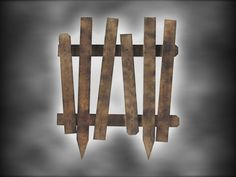 diy creepy fence.going to use an old pallet instead of buying fence panels.its cheap,its green and its easy!!.